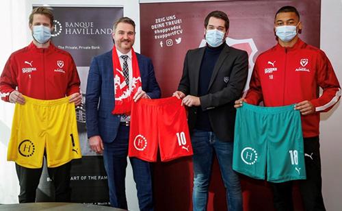 Banque Havilland Liechtenstein sponsors FC Vaduz