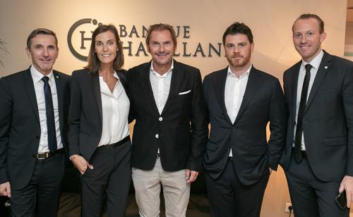 Banque Havilland Monaco met à l'honneur deux artistes de talent